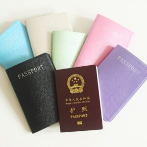 Colored Passport Cover