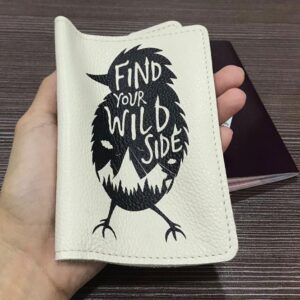 soft genuine leather passport cover